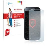 Vikuiti 3x MySafeDisplay Displayschutzfolie DQCT130 von 3M passend für Samsung Galaxy S4 mini I9190