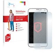 Vikuiti 3x MySafeDisplay Displayschutzfolie DQCT130 von 3M passend für Samsung Galaxy S5 Plus