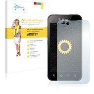 Vikuiti MySunshadeDisplay Displayschutzfolie ADQC27 von 3M für LG Electronics P970 Optimus Black
