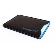 Waterkant Deichkönig Wollfilz Pouch für iPad Mini, Braun/ Blau