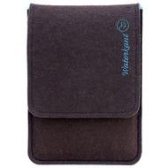 Waterkant Deichkönig Wollfilz Sleeve für iPad Mini, Braun/ Blau
