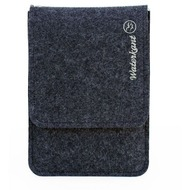 Waterkant Deichkönig Wollfilz Sleeve für iPad Mini, Grau/ Weiß
