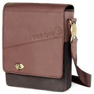 Waterkant Strandgold Echtleder Umhänge - Tasche für iPad, Braun