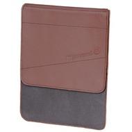 Waterkant Strandgold Flap Echtleder Tasche für iPad, Braun