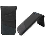 Waterkant Strandgold Flap Tasche für iPhone 5/ 5S/ SE, Schwarz