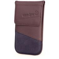 Waterkant Strandgold Flap Tasche für Samsung Galaxy S4, Braun