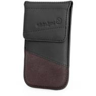 Waterkant Strandgold Flap Tasche für Samsung Galaxy S4, Schwarz