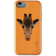 Wilma Electric Savanna Giraffe for iPhone 6/ 6S/ 7/ 8 orange