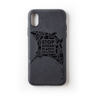 Wilma Stop Plastic Matt Manta for iPhone XR black