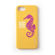 Wilma Stop Plastic Seahorse for iPhone 6/ 6S/ 7/ 8 yellow