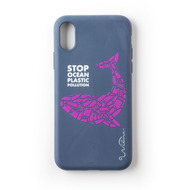 Wilma Stop Plastic Whale for iPhone X/ Xs dark blue
