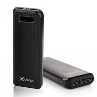 XLayer Zusatzakku Powerbank Carbon Black 15000mAh Smartphones/ Tablets