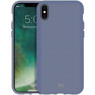 xqisit Eco Flex for iPhone XS Max lavender blue