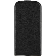xqisit Flip Cover for Galaxy S4 schwarz