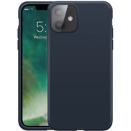 xqisit Silicone Case Anti Bac for iPhone 12 mini blue