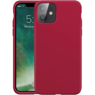 xqisit Silicone Case Anti Bac for iPhone 12 mini red