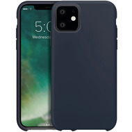 xqisit Silicone for iPhone 11 midnight blue
