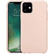 xqisit Silicone for iPhone 11 nude