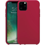 xqisit Silicone for iPhone 11 Pro Max Merlot Red