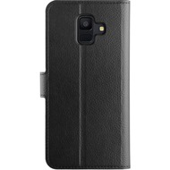 xqisit Slim Wallet Selection for Galaxy A6 (2018) black