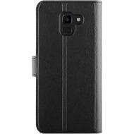 xqisit Slim Wallet Selection for Galaxy J6 (2018) black