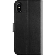 xqisit Slim Wallet Selection for iPhone XS Max black