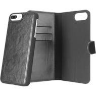 xqisit Wallet Case Eman for iPhone6+/ 6s+/ 7+ schwarz