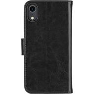 xqisit Wallet Case Eman for iPhone XR black