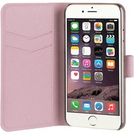 xqisit Wallet Case Viskan for iPhone 7 /  8 rose gold col.