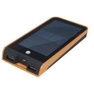 Xtorm Basalt solar charger, 3.000mAh, orange/ schwarz