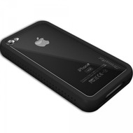 XtremeMac HardCase Microshield Accent iPhone (4), schwarz