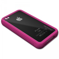 XtremeMac HardCase Microshield Accent iPhone (4), pink