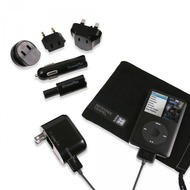 XtremeMac Ladegerät InCharge Travel iPod/ iPhone, schwarz