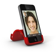 XtremeMac SoftCase Snap Stand iPhone (4/ 4S), rot