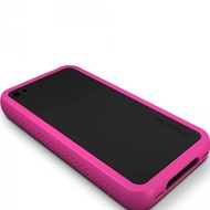 XtremeMac SoftCase Tuffwrap Accent iPhone (4), schwarz pink