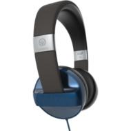 ZAGG Ifrogz Audio Carbide-Headphone mit Mikrofon, Blau