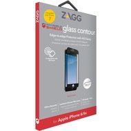 ZAGG invisibleSHIELD Contour Glass für iPhone 7, schwarz