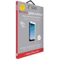 ZAGG invisibleSHIELD Contour Glass für iPhone 7, weiß