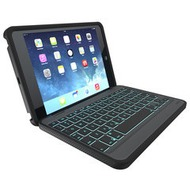 ZAGG Outdoor Folio Keyboard Case für iPad Mini/ Mini 2, Schwarz