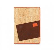 Zenus Masstige A-Cork Diary für Apple iPad Air, orange