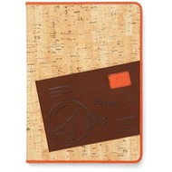 Zenus Masstige A-Cork Diary für iPad Air, orange