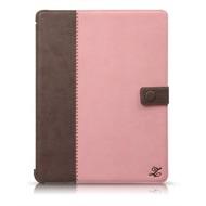 Zenus Masstige E-Note Diary case für Apple iPad 3 /  4, pink/ braun