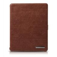 Zenus Masstige Lettering Diary Case für Apple iPad 3 /  4, braun