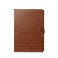 Zenus Masstige Lettering Diary für Apple iPad Air, brown