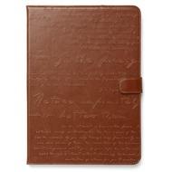 Zenus Masstige Lettering Diary für iPad Air, brown