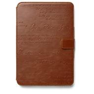 Zenus Masstige Lettering Diary für iPad mini Retina, brown