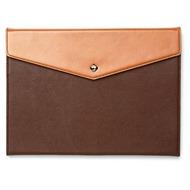 Zenus Prestige Envelope Folio für iPad Air, dark brown