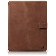 Zenus Prestige Vintage Folio Case für Apple iPad 3 /  4, braun