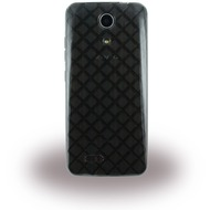 Zopo Silikon Handy Cover - Speed 7C - Transparent Schwarz