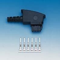 HDK TAE S4 -F Anschluss-Stecker, Bausatz (10er Pack)